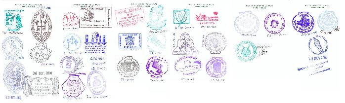 Camino de Santiago Passport With Stamps