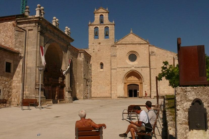 san juan de ortega monastery on the camino de santiago