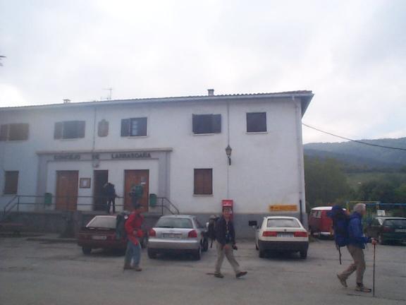 "The refuge at ""Larrasoaña"""