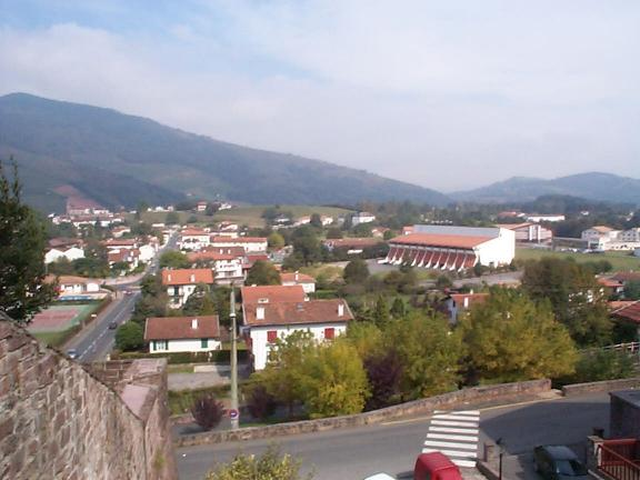 A picture of the refuge at St Jean Pied De Port