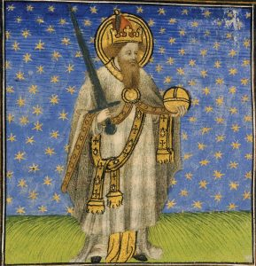 Charlemagne, King of the Franks, 15th Century